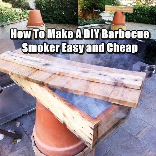 How To Make A DIY Barbecue Smoker Easy and Cheap