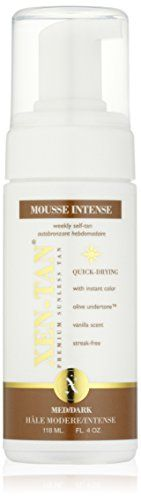 Xen-Tan Mousse Intense - A Premium Sunless Quick Tan Dry Formula with Instant Color For Face & Body - 118ml has been published at http://www.discounted-skincare-products.com/xen-tan-mousse-intense-a-premium-sunless-quick-tan-dry-formula-with-instant-color-for-face-body-118ml/