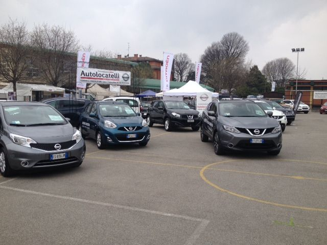 Autolocatelli Concessionario Nissan alla Fiera di San Giuseppe #CernuscoSulNaviglio