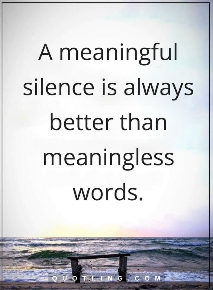 Best 25+ Silence Quotes Ideas On Pinterest