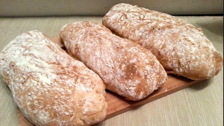Per gli amanti del pane fatto in casa: la ricetta made in Veneto della Ciabatta