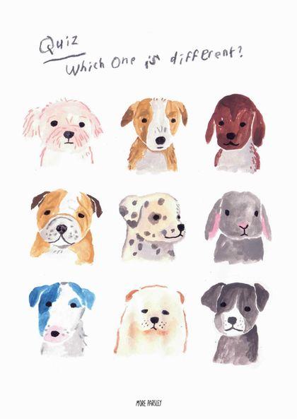 손그림/일러스트_ 강아지 일러스트, 강아지 그림, 동물 일러스트 : 네이버 블로그