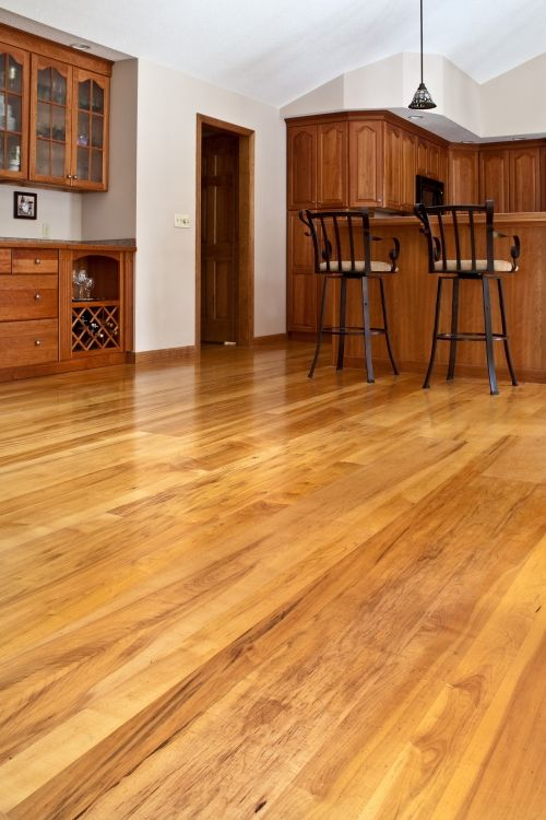 Maple effect floor