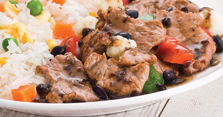 Poulet au gingembre et sauce aux haricots noirs