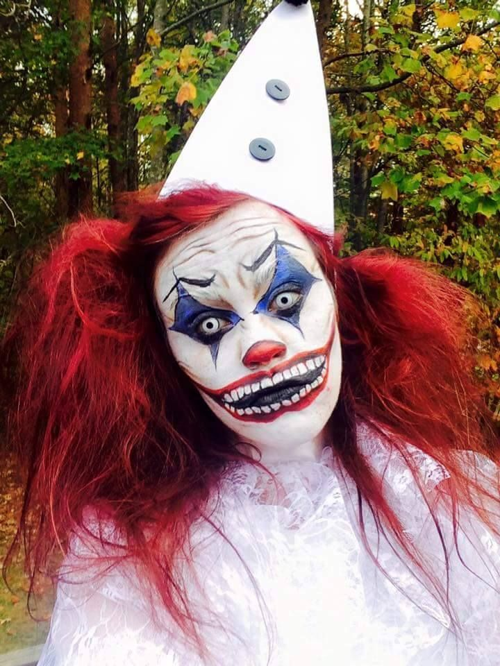 Scary Clown Makeup For Halloween 2015 Face Painting Ideas