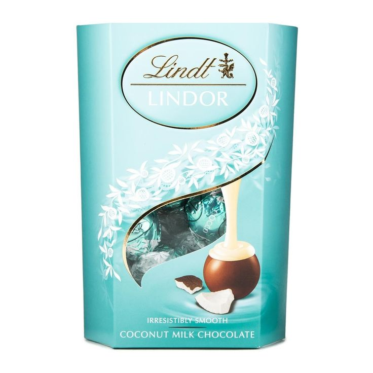 Lindt Lindor Coconut Milk Chocolate 200g