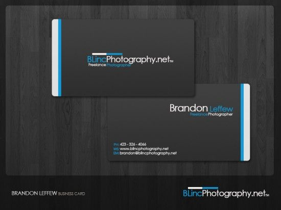 Again i like the contrast of colours in this business card, the middle alignment of the website instantly draws you towards it because there is no other text distractions around and on the back the breakup of text is nice and draws your attention to what both chunks have to say. There is also a strong repetition of colour in this business card and it matches with the colour of the logo.