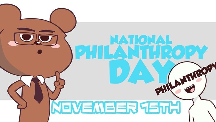 What is NATIONAL PHILANTHROPY DAY?   Every Day is a Holiday! National Days are fun so lets celebrate and learn some trivia and fun facts about this holiday. Also learn about the differences between Charity and Philanthropy  Remember NATIONAL PHILANTHROPY DAY is celebrated on November 15  Enjoy    #nationalphilanthropyday #philanthropy #PhilanthropyDay