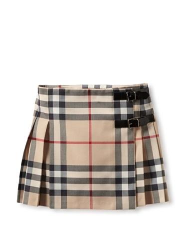Burberry Kid's Kilt Skirt (Check) ... i wish i fit this