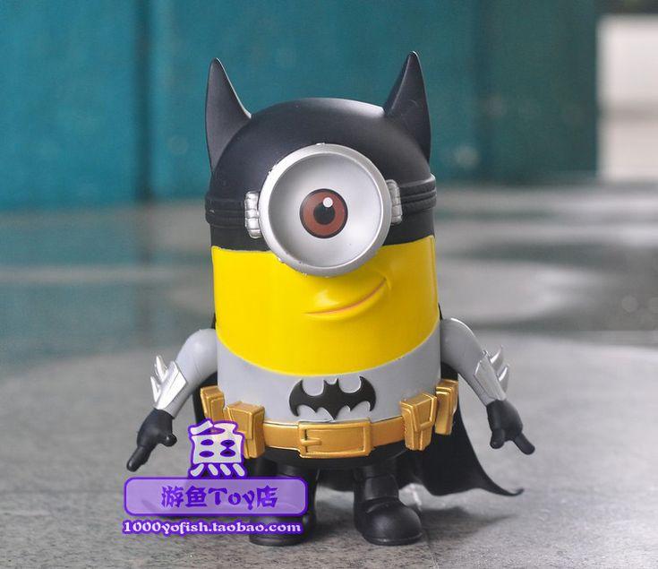 Новая Классика Аниме Анимация Мультфильм Гадкий я Миньоны Супергерой Бэтмен Стиль Версия Милый Прохладный 8 рисунок Игрушки Новая Коробка