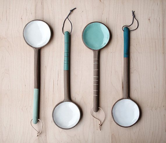 Hey, I found this really awesome Etsy listing at https://www.etsy.com/listing/215584816/large-ceramic-spoon