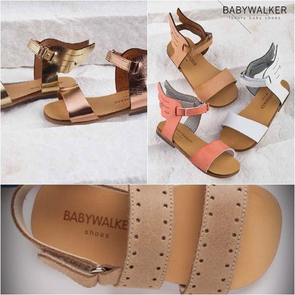 Βαπτιστικά παπούτσια της BABYWALKER -> shop online www.angelscouture.gr