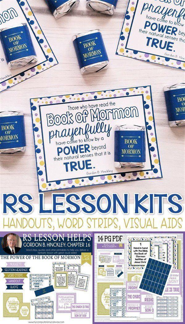 RS Lesson Kit {GBH Manual #16} PRINTABLE