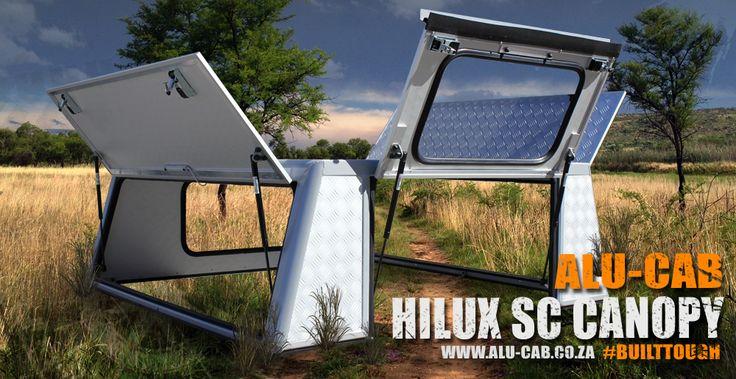 Alu-Cab's Hilux Single Cab Canopy