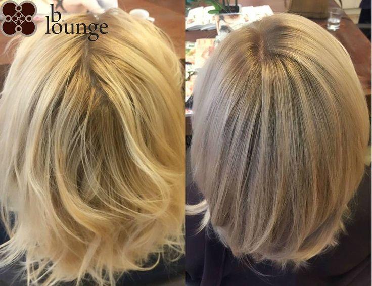 Flawless combination of #Majirel Cool-Cover and #Dialight from #LorealProfessionnel turned yellow blonde into a more natural and flattering #nudeblond. Cut, colour and style by @patriciahairstylist /// Makellose Färbung mit #Majirel Cool-Cover und #Dialight von #LorealProfessionnel verwandelt gelbes Blond in einen natürlichen und edlen Ton. Schnitt und Farbe ausgeführt von Patricia  #bloungevienna #sandblond #beigeblond
