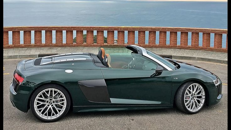 2017 Audi R8 Spyder V10 review