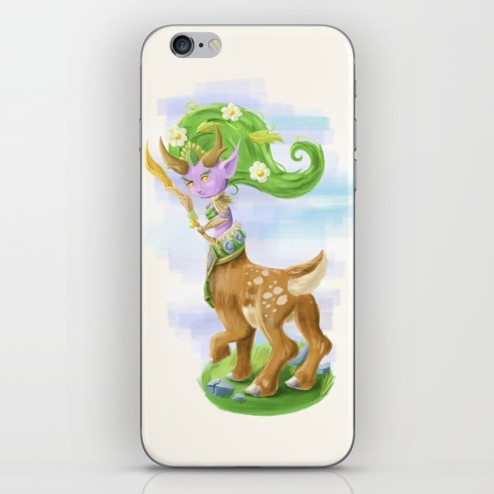 Chibi Lunara  iPhone & iPod Skin