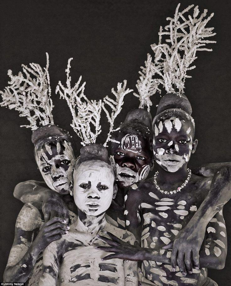 Tribos em extinção (Os povos Dassanech, Banna e Karo co-habitam a mesma região no sudoeste da etiópia)