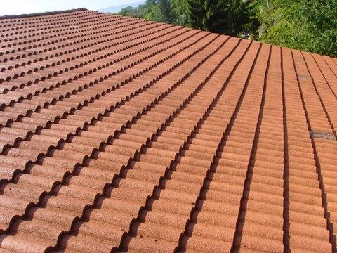Peinture et demoussage d'une toiture, à Chambery (n3)