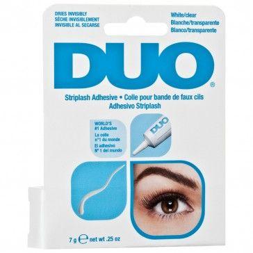 DUO Wimpernkleber Transparent 7 g - DUO LASH ADHESIVE CLEAR 7g.   DUO® Striplash Adhesive