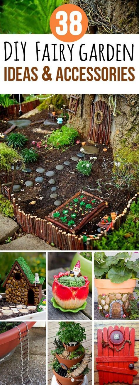 38 Fabulous DIY Fairy Garden Ideas and Accessories To Add Some Magic To Your Home