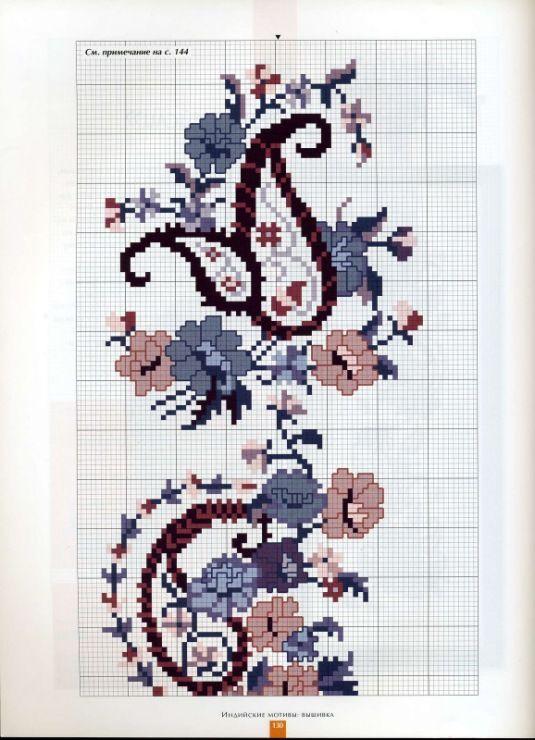 Gallery.ru / φωτογραφία # 124 - Κεντήματα. Ινδικά μοτίβα - θαβίτη