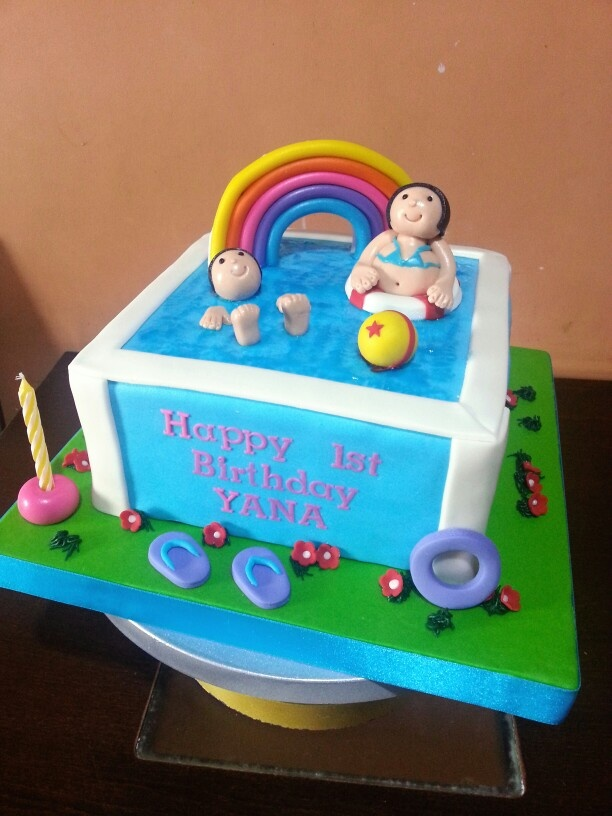 Swimming Pool Cake Designs - Home Design Ideas