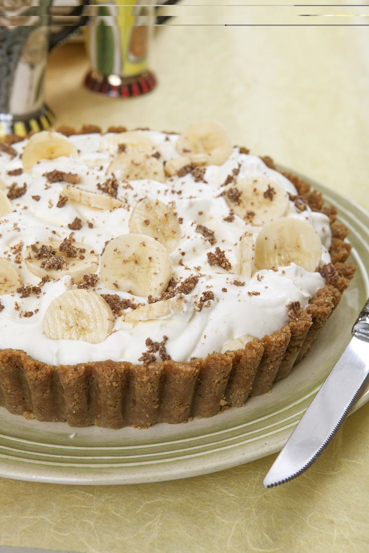 Banoffee Pie  http://www.hulettssugar.co.za/step_into_our_kitchen_recipes_best-ever_banoffee_pie