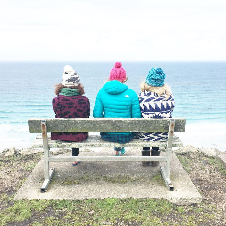 Surf watch at Gwenver   #surfingcornwall