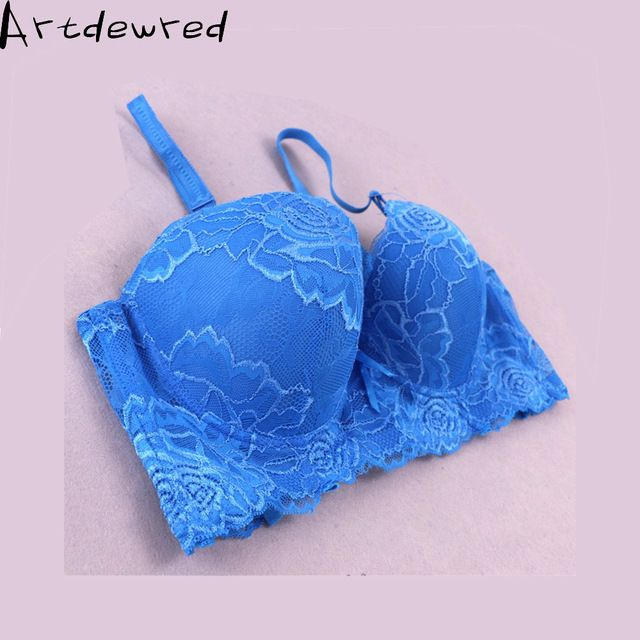 New 2017 spring and summer thin women plus size bra  C D cup lace bra female lingerie deep V sexy big size bra 42-48