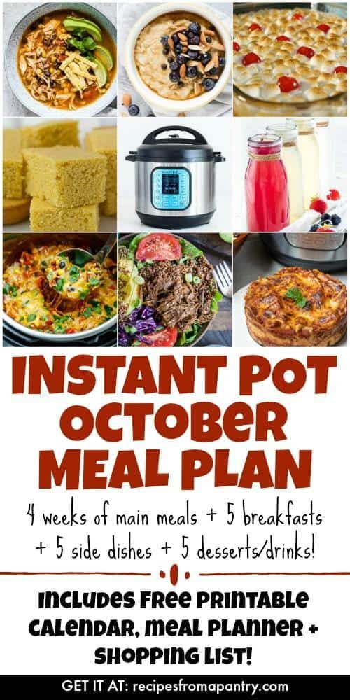 Are you looking for the BEST Instant Pot Meal Plan?? You've found it! This meal …