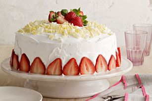 White Chocolate-Strawberry Tres Leches Cake recipe