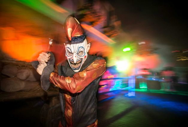 Are you brave enough to take on the #zombies that roam Hollywood #Horror Nights at Universal Studios Hollywood?