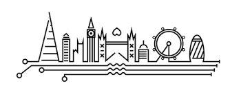 Risultati immagini per london skyline tattoo