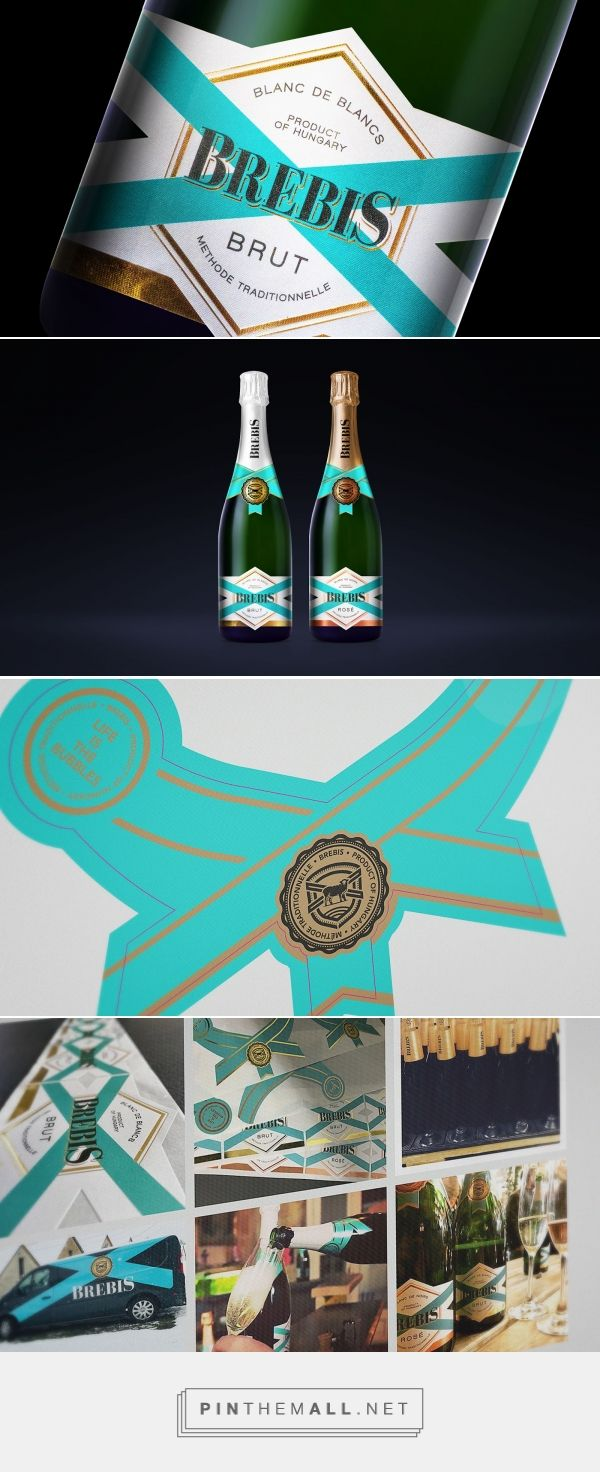 Brebis Champagne on Packaging of the World - Creative Package Design Gallery - created via https://pinthemall.net