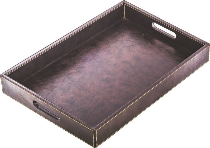 "Leather Tray Hotel Guestroom Equipments 20"" X 13"" X 2,7"" – Adrasant"