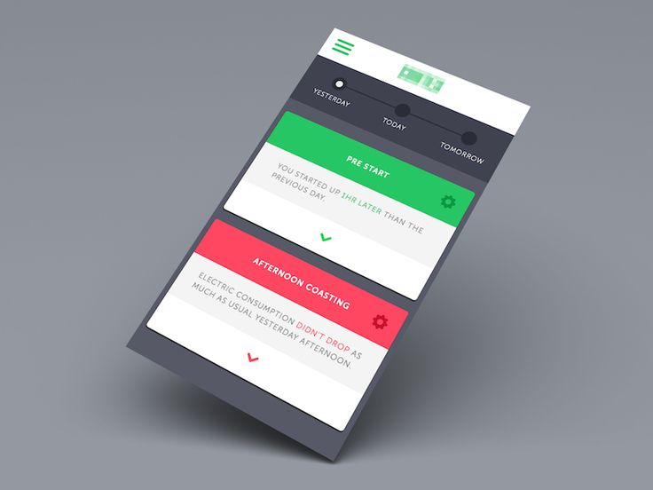 Mobile Dashboard Detail by Corwin Harrell for thoughtbot