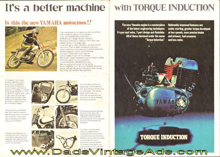 1972 Yamaha Motocross Brochure