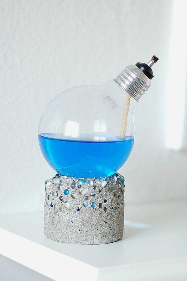 die besten 25 llampe selber machen ideen auf pinterest duftkerzen diy kerzen docht und glas. Black Bedroom Furniture Sets. Home Design Ideas