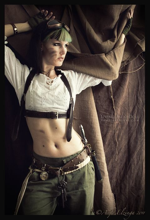 Post Apocalypse Steampunk-ish by ~LivingDreadDoll on deviantART
