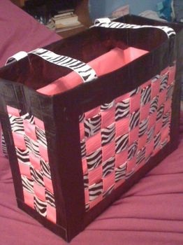 duct tape bag - fun gift bag