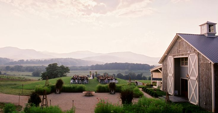 """Pippin Hill Farm & Vineyards • Charlottesville, Virginia • """"natural beauty in the Blue Ridge Mountains"""""""