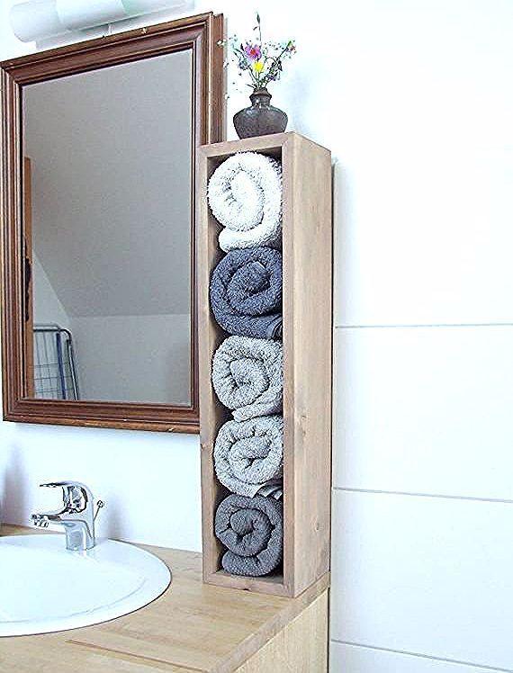 Badregal Handtuchhalter Handtuchregal ideal für