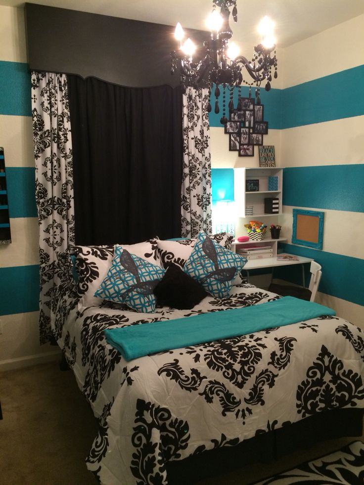 Black And White And Teal Bedroom Images Galleries With A Bite