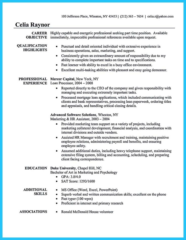 25+ beste ideeën over Administrative Assistant Resume op Pinterest - sample psychology resume