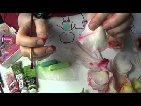 Тонировка Розы от Риты (бутон) часть 1 - YouTube