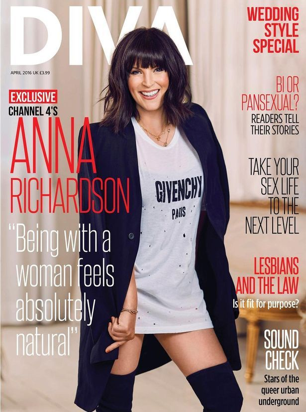 Anna spoke out to best selling magazine Diva