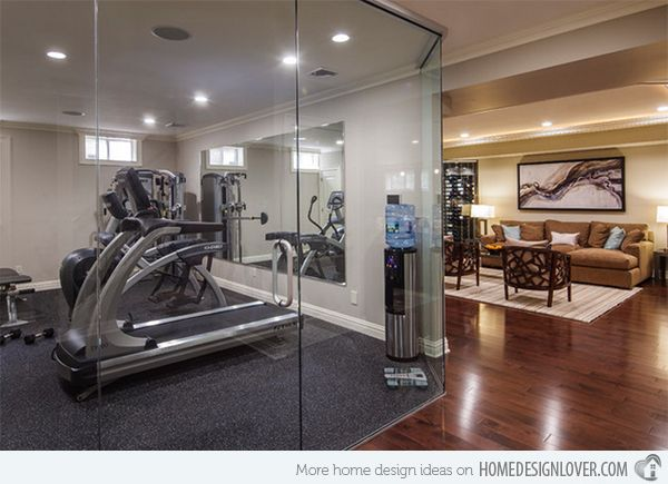 Elegant 15 Cool Home Gym Ideas