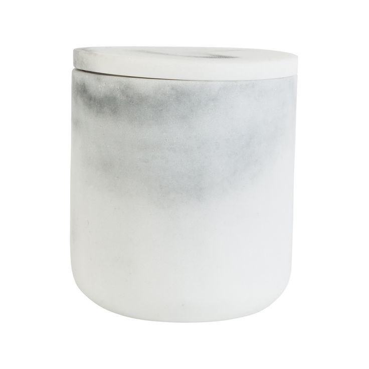 Krukke m/lokk Marmor #Kremmerhuset #Interior #Inspiration