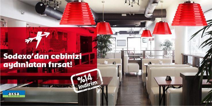 Aksa Elektrik ile 1 yıllık sözleşme imzalayan Sodexo üye iş yerleri, elektrik faturalarında %14 indirim kazanıyor, hem cepleri hem içleri aydınlanıyor. Kampanya detayları için; https://www.sodexoavantaj.com/aksa-elektrik-kampanyasi